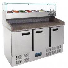 Mostrador preparación ensaladas/pizzas 3 puertas CN267 POLAR