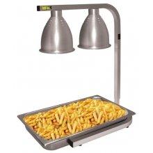 Lámpara calentadora infrarroja para buffet GD867 Buffalo