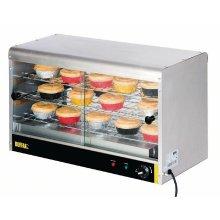 Vitrina caliente para 60 tartas GF455 Buffalo
