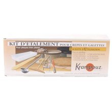 Kit de accesorios para crepera CB107 Krampouz