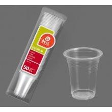Bolsa de 50 Vasos Irrompibles Transparentes de 100cc 247800 (1 ud)