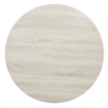 Tablero de mesa redondo 600mm blanco roto HC288 BOLERO