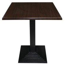 Tablero de mesa cuadrado 70cm marrón oscuro GG639 Bolero