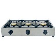 Cocina a Gas Sobremesa 3 quemadores Uso Aire Libre (sin Termopar) SP7505
