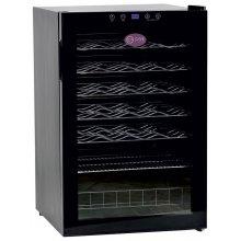 Armario de Vino de Una Temperatura con Puerta de Vidrio 40 Botellas 540x550x830h mm CV-40