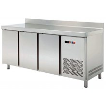 Mesa GN/1 Refrigerada 3 puertas Fondo 700 de 1792x700x850h mm TRCH-180