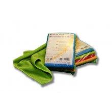Pack de 4 bayetas de Microfibra Multiusos de 4 colores Ecológicas BMF007 DICAPRODUCT (1 Pack)