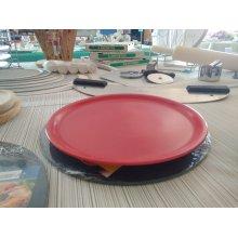 Plato pizza Reserve rojo 30,5x2,5cm B758167R VIEJO VALLE (Caja 6 uds)
