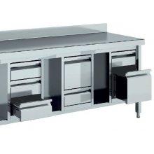 Módulo 4 Cajones para Mesas de 600 mm de 460x530 x600h mm MC46