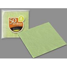 Paquete de 50 Servilletas de 2 Capas de 40x40 cm varios colores disponibles 10-101 BESTPRODUCT (1 paquete)