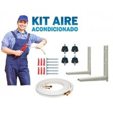 Kit Accesorios de Montaje Aire acondicionado con tubería 3 m de 3/8-5/8 KIT3AIRE6000