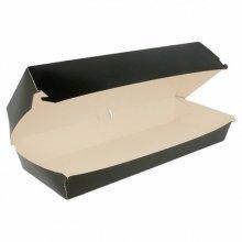 Pack de 50 Cajas de Panini de 26x12x7cm de Cartoncillo Negro 219.97 Garcia de Pou (Pack 50 uds)
