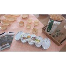 Pack de 10 Latas para Tapeo Oval de 11x7cm hojalata Plateado 2810 SUPREMNOX (1 Pack)
