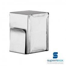 Servilletero con portacartas Acero Inox 8059 SUPREMINOX (1 ud)