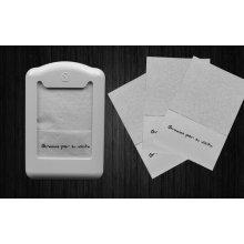 Caja de 70 bolsas de 140 servilletas miniservis 17x17cm blanca P17S70140 Hostelcash (1 caja)