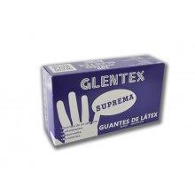 Caja Guantes latex GLENTEX Talla P/S GLO001 Dicaproduct (caja 100 uds)