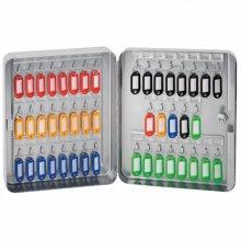 Armario 45 llaves de 30x24x8cm color Gris metal 197.19 GDP (1 ud)