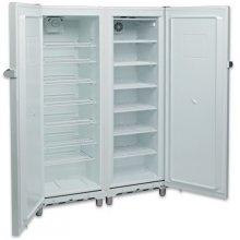 Armario Snack Refrigerados y Congelados 700 litros 2 Puertas Inoxidable de 1250 x650 x1770h mm KITCF350PROSS