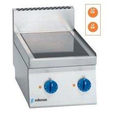 Cocina Vitrocerámica electrica 2 fuegos 1,5+2Kw Snack 650 SCV-40 E EDENOX