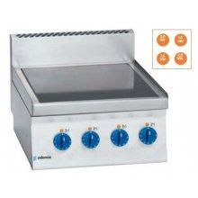 Cocina Vitrocerámica electrica 2 fuegos 2X1,5Kw+ 2X2 Kw Snack 650 SCV-60 E EDENOX