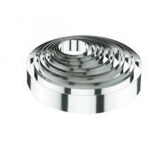 Molde de Aro Redondo de 6x4 Cm de Acero Inoxidable 18-10 LACOR 68406 (1 ud)