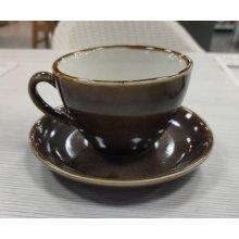 Caja 6 Platos para tazas de café capuchino Olympia Kiln corcho 160mm GP365 (caja 6 uds)