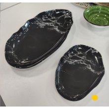 Rabanera de 21cm Stone Mármol Negro 4631-8063 Lubiana (caja 6 uds)