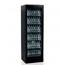 Armario Refrigerado 1 puerta de cristal 372 L color NEGRO CEV425-I BLACK