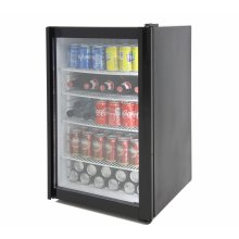 Mini expositor refrigerado de 120 litros T-120