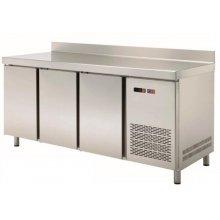 Mesa Snack Refrigerada 4 puertas Fondo 600 de 2542x600x850h mm MRCH-250 (OUTLET)