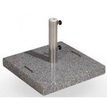 Base de granito 40kg con asas sobre superficie EXTENSIBLE-ALU2X2-BASE40K