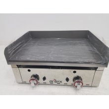 Frytops a gas acero rectificado de 15 mm con medidas 670x590x345h mm 70FRYGR(OUTLET)