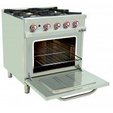 Cocinas a Gas con Horno Serie EASY 80CG70H