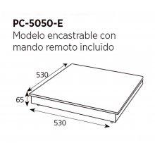 Placa caliente de sobremesa 2 zonas de cocción PC-10050 EDENOX