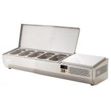 Vitrinas Refrigeradas de ingredientes para ensaladas y pizzas +4°C a +8°C EI-VT EDENOX