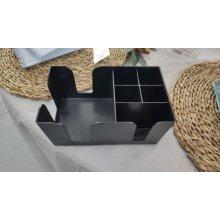 Cajita de servicio ABS negro de 24x14'5x10 cm 101ABS (1 ud)