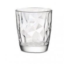 Vaso Dof de 39cl Diamond color Transparente 1-302260 ALAR (Caja 6 uds)