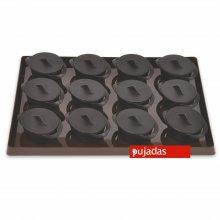 Conjunto de Bandejas con 20 Mini Cacerolas Redondas 100101 PUJADAS (1 ud)