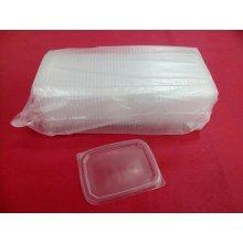 Paquete de 50 uds de Tapas para Envases de Salsas Especial Microondas hasta 120º TEMSPP HOSTELCASH (1 paquete)