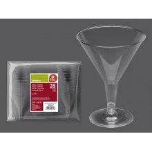 Bolsa de 25 Copas de Cocktail Transparente de 215 ml. 265300 BESTPRODUCT (1 bolsa)