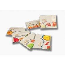 Caja de 500 uds de Toallitas perfumadas al limón color surtido STP001 DICAPRODUCT (1 caja)