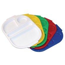 Bandeja con compartimientos Kristallon pequeña varios colores disponibles DL12 (OUTLET LIQUIDACIÓN) (1 ud)