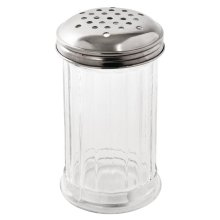 Dispensador de cristal con tapa de acero inox orificions 4mm C235 Vogue (1 ud)