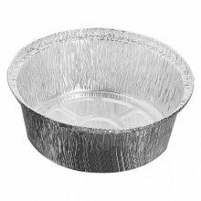 Pack 100 uds Recipiente Aluminio para Pollo pequeño 21,6x6cm 325.26 GDP (1 pack)