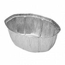 Pack 100 uds Recipiente Aluminio para Pollo grande 25x19,5x9cm 325.24 GDP (1 pack)