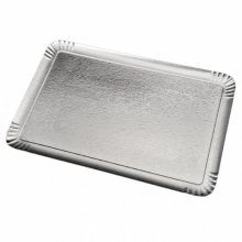 Pack 25 uds Bandeja Catering Doble Cara 19x28cm Plata/Oro Carton 147.55 GDP (1 pack)