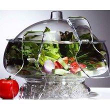 Fuente para Sangría, Frutas y Ensaladas Acrílico 5'4 Litros de 22'3x24'5 cm 9160 ALEXALO (1 ud)