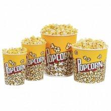 """Pack 50 uds Vasos Palomitas """"Pop Corn"""" de Cartón Grueso Plastificado 5400ml 178.63 GDP (OUTLET LIQUIDACIÓN) (1 pack)"""
