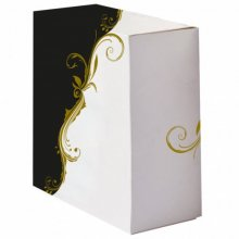 Pack 50 uds Cajas Pasteleria sin ventana 275g/m2 23x23x7.5cm Blanco Cartoncillo 204.65 GDP (1 pack)