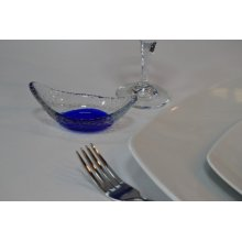 Cuenco Oval Murano Cobalto 11x5,5cm B942009 VIEJO VALLE (Caja 48 uds)